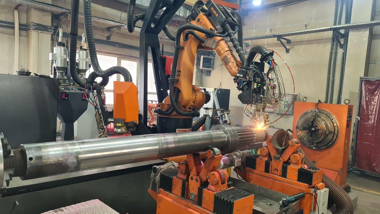 Лазерная наплавка при ремонте СВП